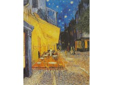 Vincent Van Gogh repro The cafe terrace