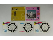 Retro VIEW MASTER tárcsa INDIA