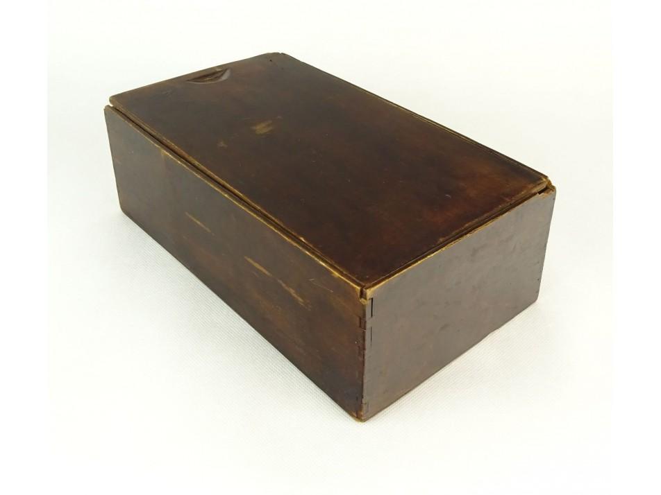 76a9de02d804 Régi fa varrós doboz   regitargyak.hu