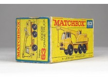 MATCHBOX Superfast Dodge Crane Truck doboz