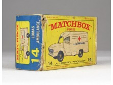 MATCHBOX Superfast Lomas Ambulance doboz