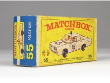 MATCHBOX Superfast Police car doboz