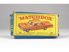 MATCHBOX Superfast Taxi Cab doboz