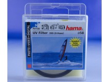 HAMA UV FILTER 58 mm UV 390 (0-HAZE) M58